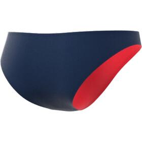 adidas Volley Bikinitrusser Damer, blå/rød